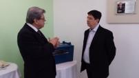 Visita do Secretario Dr. Caio Tibério da Rocha
