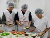 Fotos do Banco de Alimentos